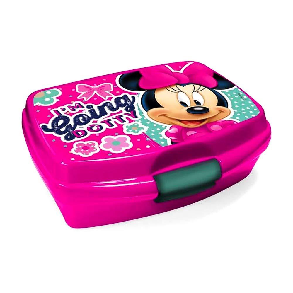 GUIZMAX Boite a gouter Minnie Disney Star