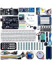 ELEGOO Carte Starter Kit de Démarrage Super avec Guide d'Utilisation Français pour Débutants et Professionnels DIY Compatible avec Arduino IDE