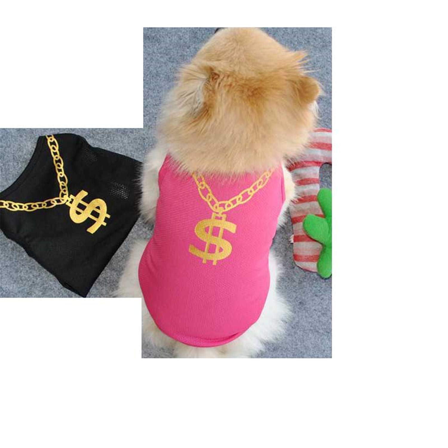 Amazon.com : Clothes for Dog Summer Puppy Small Dog Pet Clothes Vest T Shirt Apparel Ropa para Perros Dog Clothing Pri : Pet Supplies