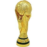 Voetbaltrofee, Wereldbeker voetbal Hercules Golden Cup trofee van harskopie, collectie sportfans en souvenirs voor…