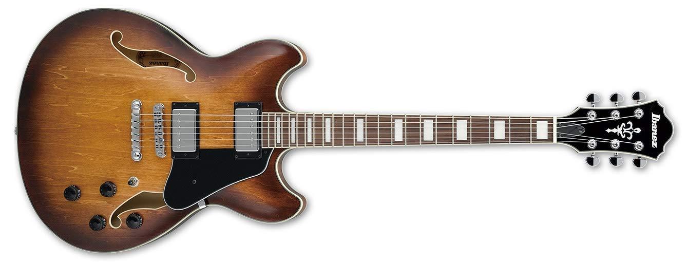 Ibanez AS73-TBC Acoustic-electric guitar Semi-empty 6strings Brown,Wood guitar