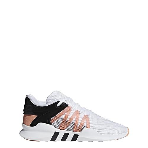 meet 86d24 6447f adidas Womens EQT RACING ADV W Cloud White/Chalk Coral/Core Black - CQ2156  (9.5 B(M) US)