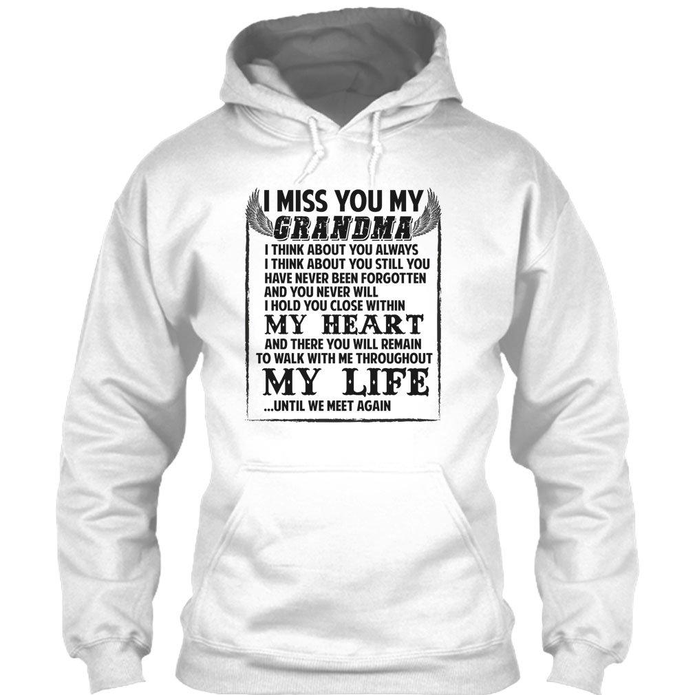 267b179e Amazon.com: I Miss You My Grandma T Shirt, My Grandma T Shirt: Clothing