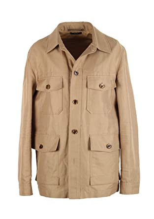 805a18acd82df5 CL - Tom Ford Beige Military Safari Coat Size 52   42R U.S. Outerwear