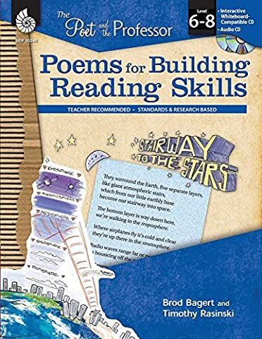 Poems for Building Reading Skills Levels 6-8 (The Poet and the Professor) (Castle Season 2 Instant)