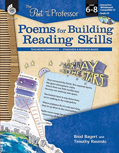 Poems for Building Reading Skills Levels 6-8 (The Poet and the Professor) ()