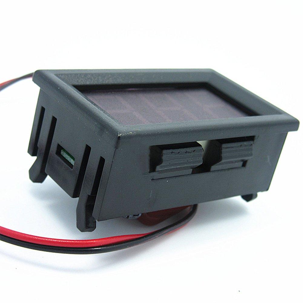 metro del voltaje de la CA 220V 2-wire Volt/ímetro digital LED con la protecci/ón de la polaridad reversa