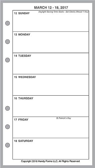 1 página por semana planificadores y organizadores para el ...