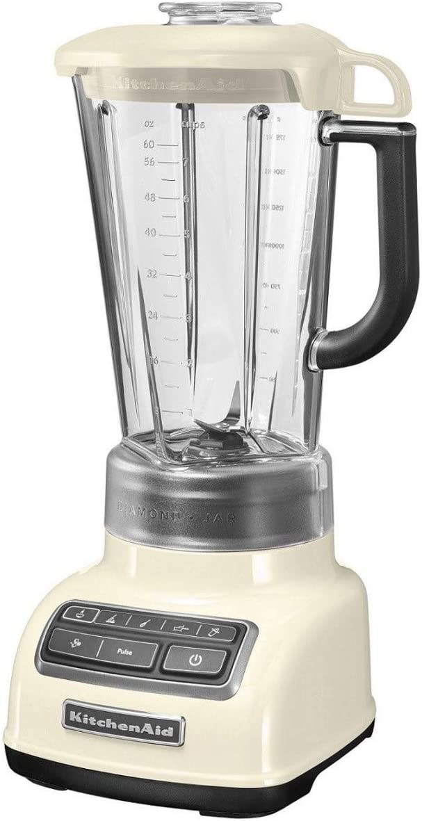 KitchenAid 5KSB1585EAC - Licuadora multifunción, 1.75 l, color blanco