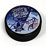 Steve Yzerman Detroit Red Wings Autographed 2014 Winter Classic Hockey Puck