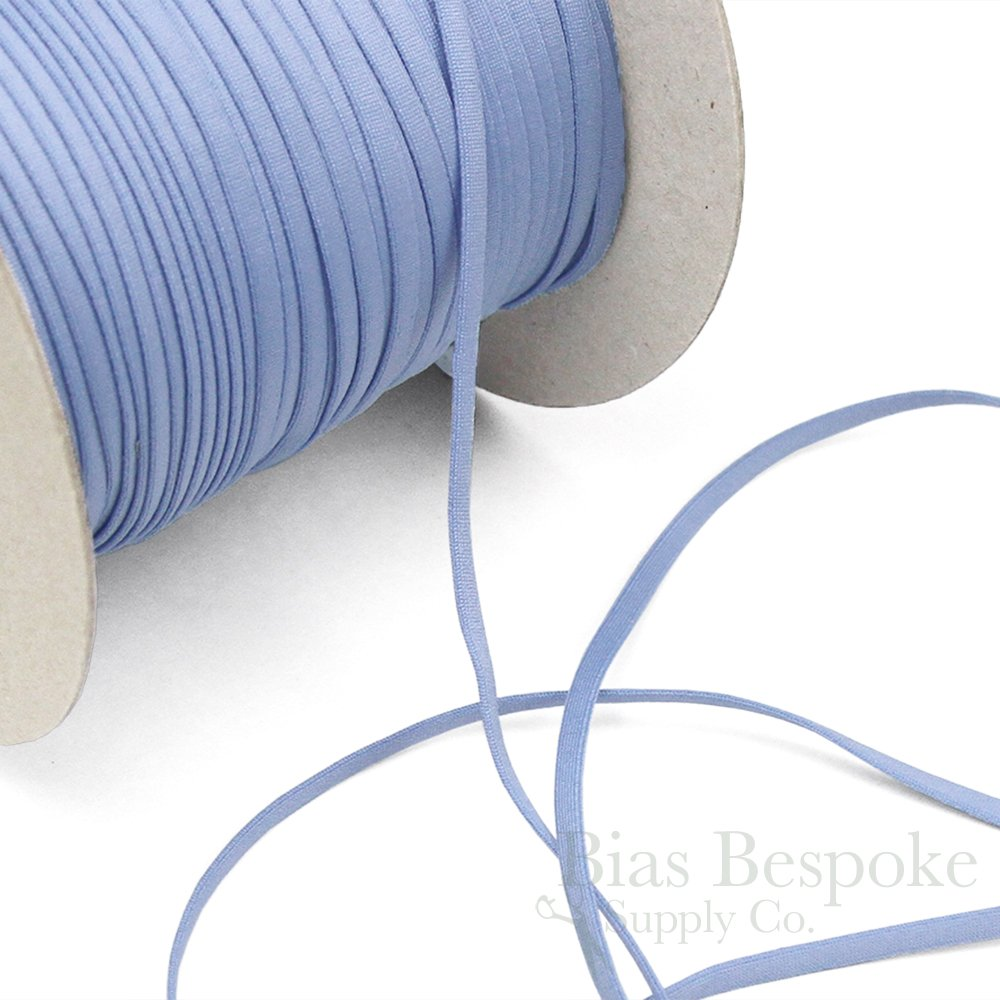 Biscuit Tan Made in Italy 5 Yards of Leo 4mm Oval Elastic for Bra Straps or Lacing