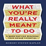 What You're Really Meant To Do: A Road Map for Reaching Your Unique Potential  | Robert Steven Kaplan