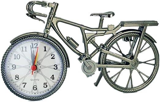 kongnijiwa Bicicleta de Alarma de la Vendimia del Reloj de plástico ...