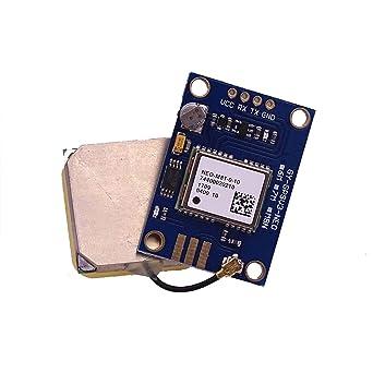 Módulo de antena GPS GY-GPSV3-M8T NEO-M8T 100% popular ...