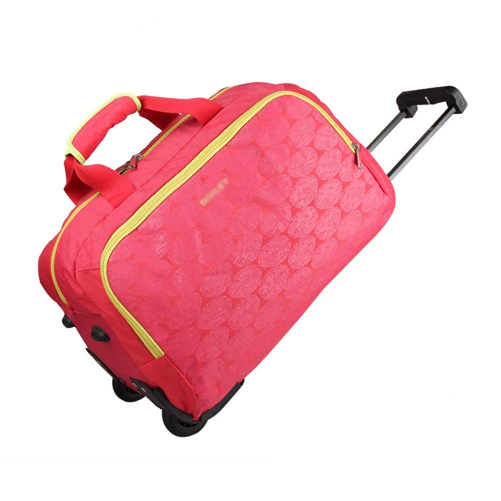 Color : Red, Size : 462630 Travel Bags Trolley Case High Capacity Light Tough Luggage Suitcases Carry On Hand Luggage Durable Hold Tingting