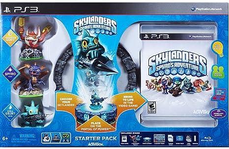 Activision Skylanders Spyros Adventure Starter Pack, PS3 - Juego (PS3, PlayStation 3, Plataforma, E10 + (Everyone 10 +)): Amazon.es: Videojuegos