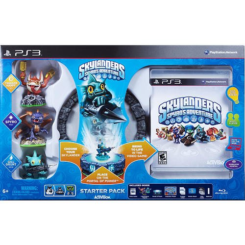 Skylanders Spyro's Adventure Starter Pack - Playstation 3 (Playstation Games Spyro)