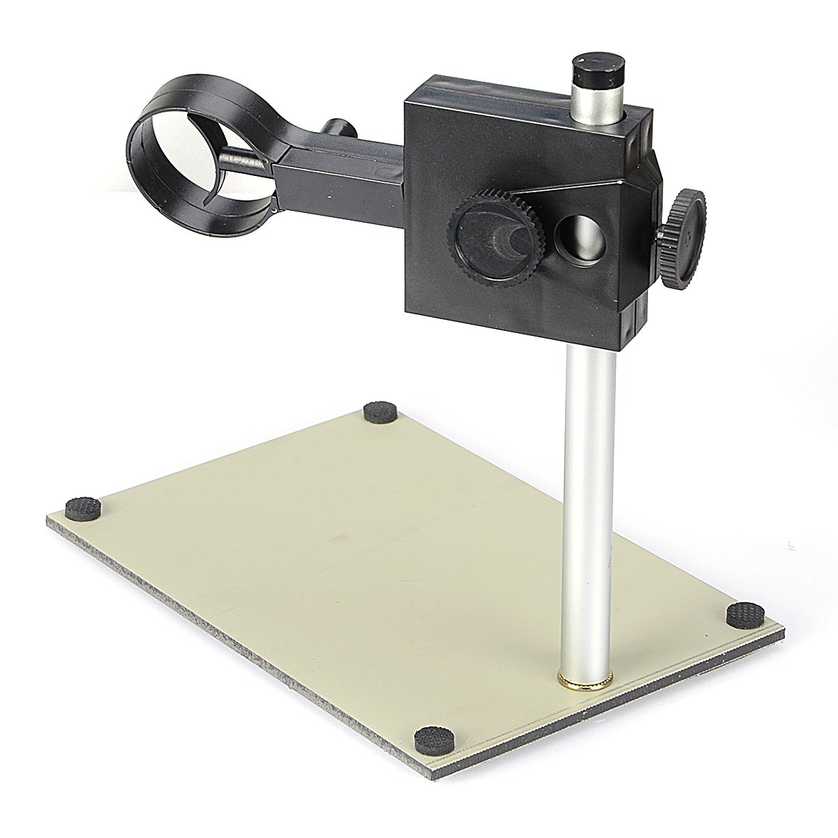 BephaMart Portable Adjustable Manual Focus Digital USB Microscope Holder Stand Support Adjusted Up and Down