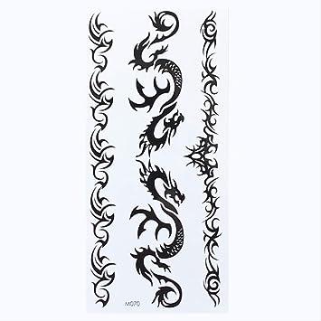 ZPF Tatuaje 1 hoja temporal inglés palabra tatuaje pegatinas ...