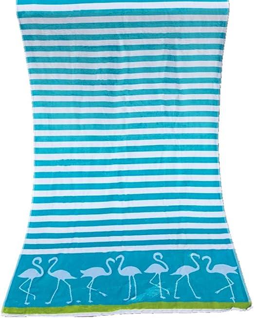 Grande Toalla Playa Rayas diseño, Algodón Absorbente Suave Secado ...