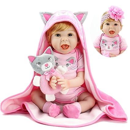 Amazon.com: Muñecas de bebé Aori Reborn de 22 pulgadas ...