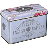 New English Teas Memorabilia Range Inglese Fine Tea 40 Earl Grey Bustina da Tè 80 g