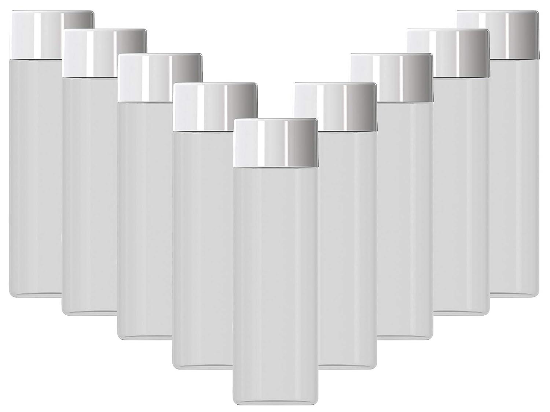 11.8 oz (350 mL) 9-Pack Empty Ultra Clear Plastic Bottles FDA Food Safe