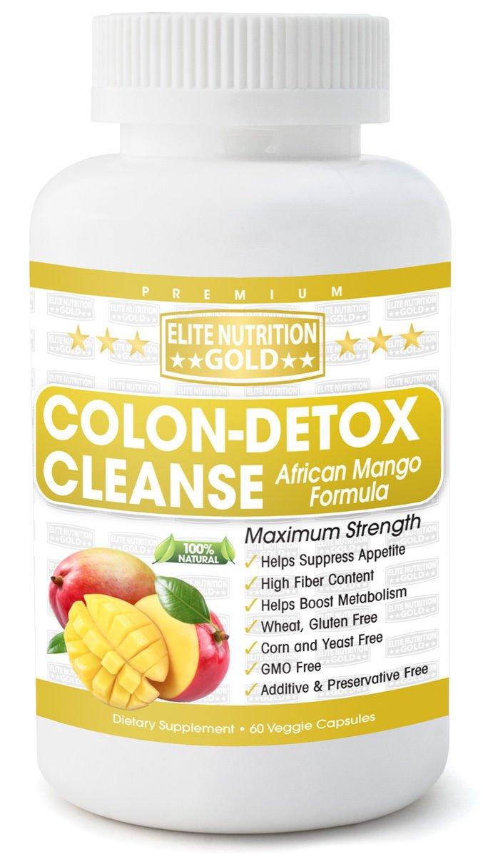 Colon-Detox Cleanse African Mango Formula MAXIMUM BODY CLEANSING DETOX WEIGHT LOSS