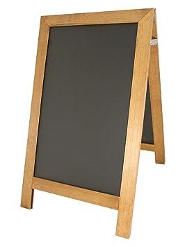 Chalkboards UK presupuesto a-Frame - Pizarra (440 mm x740 mm ...