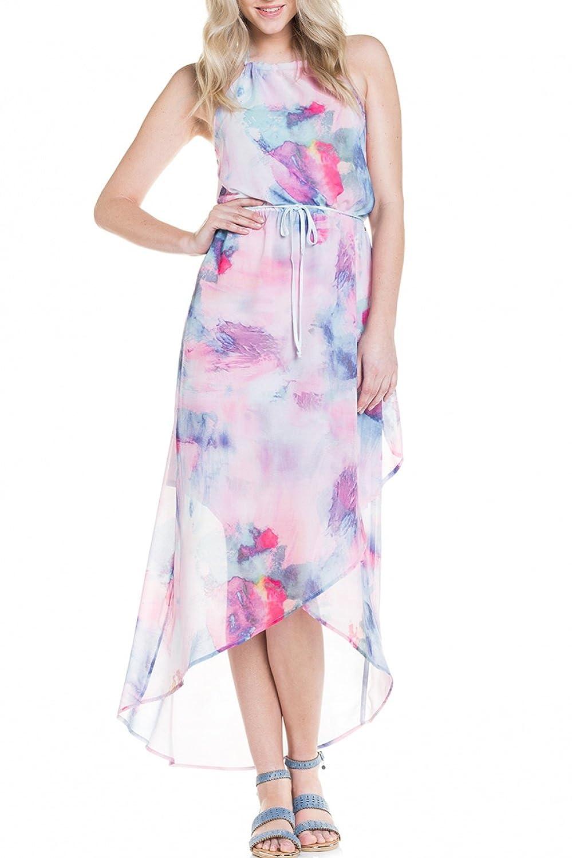 SALSA Long printed dress