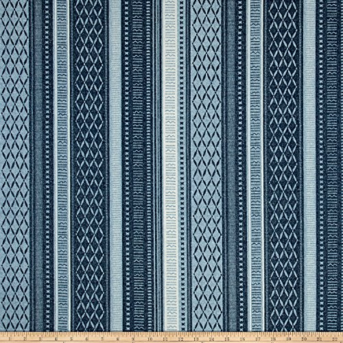(Tommy Bahama 0537511 Indoor/Outdoor Long Weekend Indigo Fabric by The Yard,)