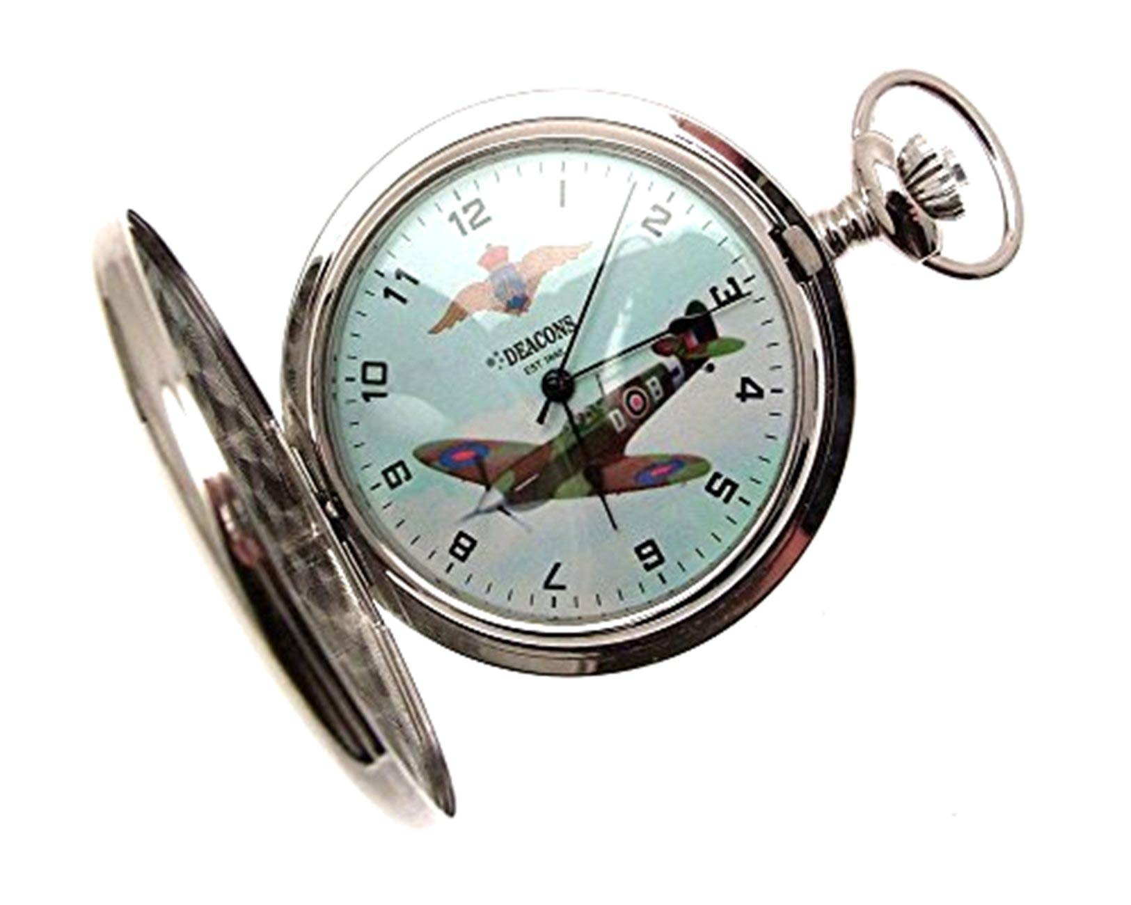 Pocket Watches for Men Gifts for Men Spitfire Pocket Watch Spitfire Watch