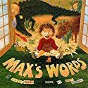 Max's Words Audiobook by Kate Banks Narrated by T.R. Knight