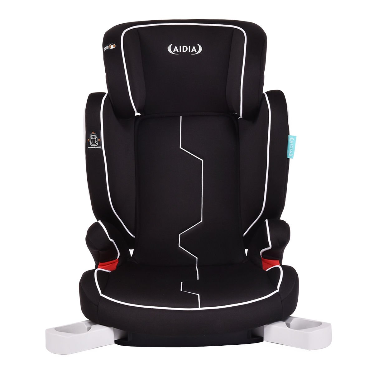 Aidia Baby Booster Car Seat,Portable Adjustable High Back Safety Toddler Car Seat w/ Cup Holder