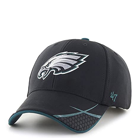 best service 3f486 8f2b5 Image Unavailable. Image not available for. Color   47 NFL Philadelphia  Eagles Embroidered Performance Fabric Stadium Style Cap