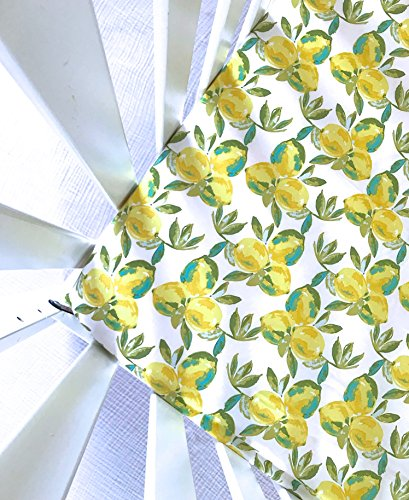 Sheets Made to Fit Stokke, Crib Sheet, Guava Lotus, 4moms Breeze, Baby Blanket, Boppy Cover, Changing Pad Cover in Yuma Lemons (Bassinet Sheet - In Stores Yuma