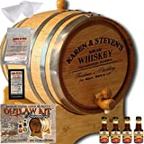 Personalized Outlaw Kit (Canadian Rye Whiskey) From American Oak Barrel - Design 063: Barrel Aged Whiskey (3 Liter)