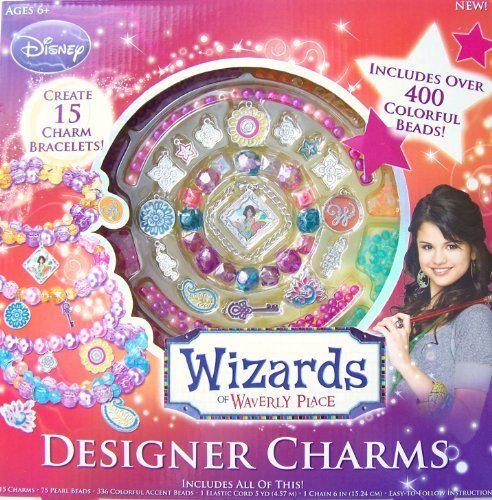 Wizards of Waverly Place Designer Charms Kit by Disney Disney Hannah Montana Charm