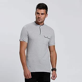 Lee Cooper Polos For Men, Grey XL