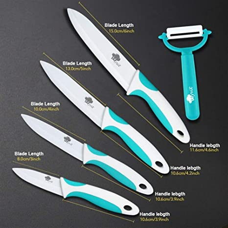 Compra Cuchillo De Cerámica Cuchillos De Cocina 3 4 5 6 ...