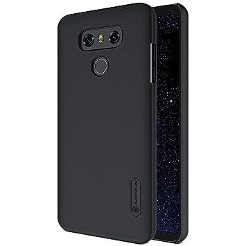 SMTR LG G6 Funda, Cubierta Slim Armor Funda +1 film Protector de pantalla para LG G6 Smartphone,(negro)