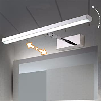Spiegel Lampe einfache moderne Edelstahl versenkbare ...