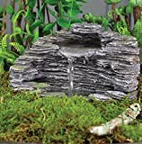 "Fiddlehead Fairy Garden ""Granite Grotto"" Fountain With Pump #16908"