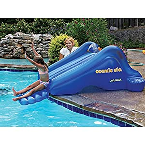 aviva sports cosmic slide inflatable pool slide 101 x 60 - Inflatable Pool Slide