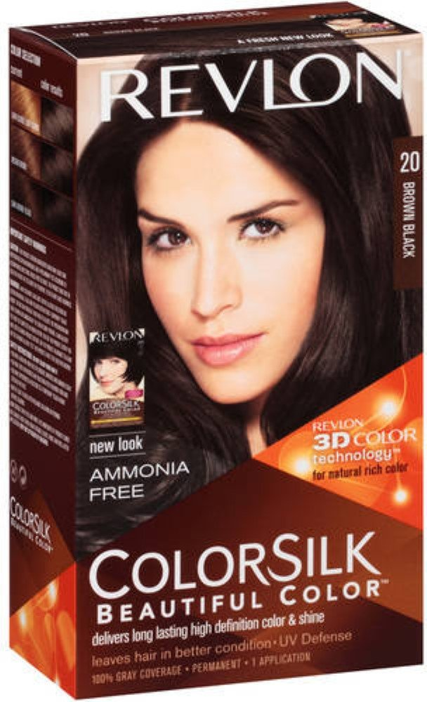 Amazon Revlon Colorsilk Beautiful Color Brown Black 20