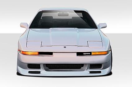 1986 1992 Toyota Supra Duraflex Type G Front Bumper Cover   1 Piece