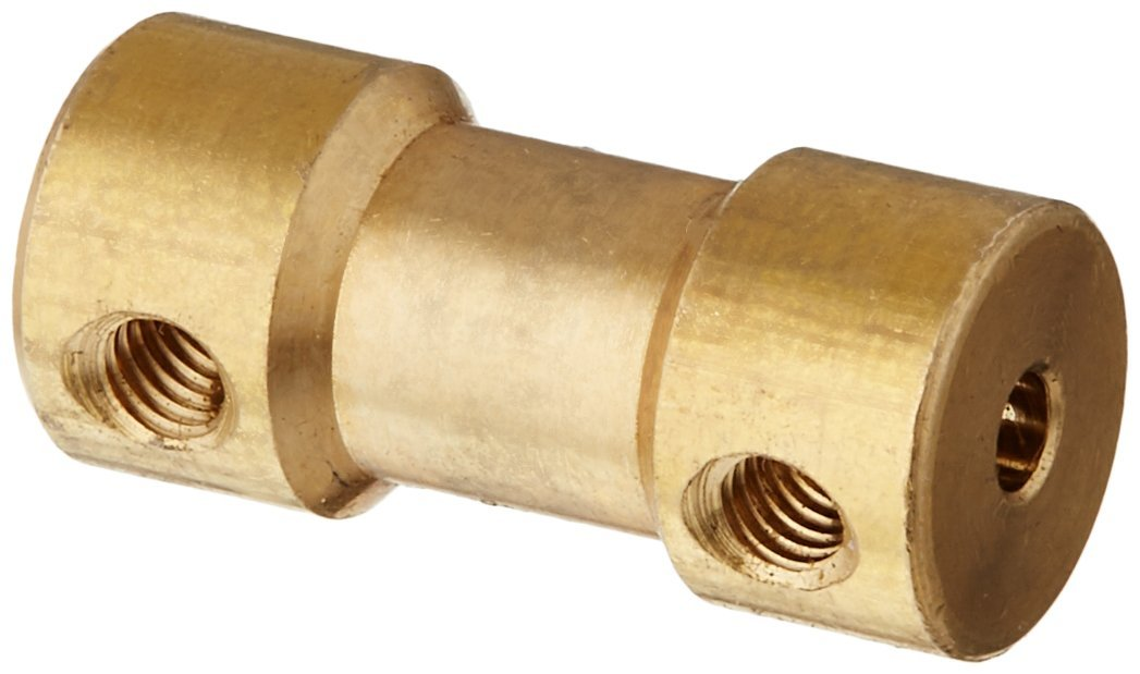RC Airplane 2.3mm to 3mm Brass Motor Coupling Shaft Coupler Connector