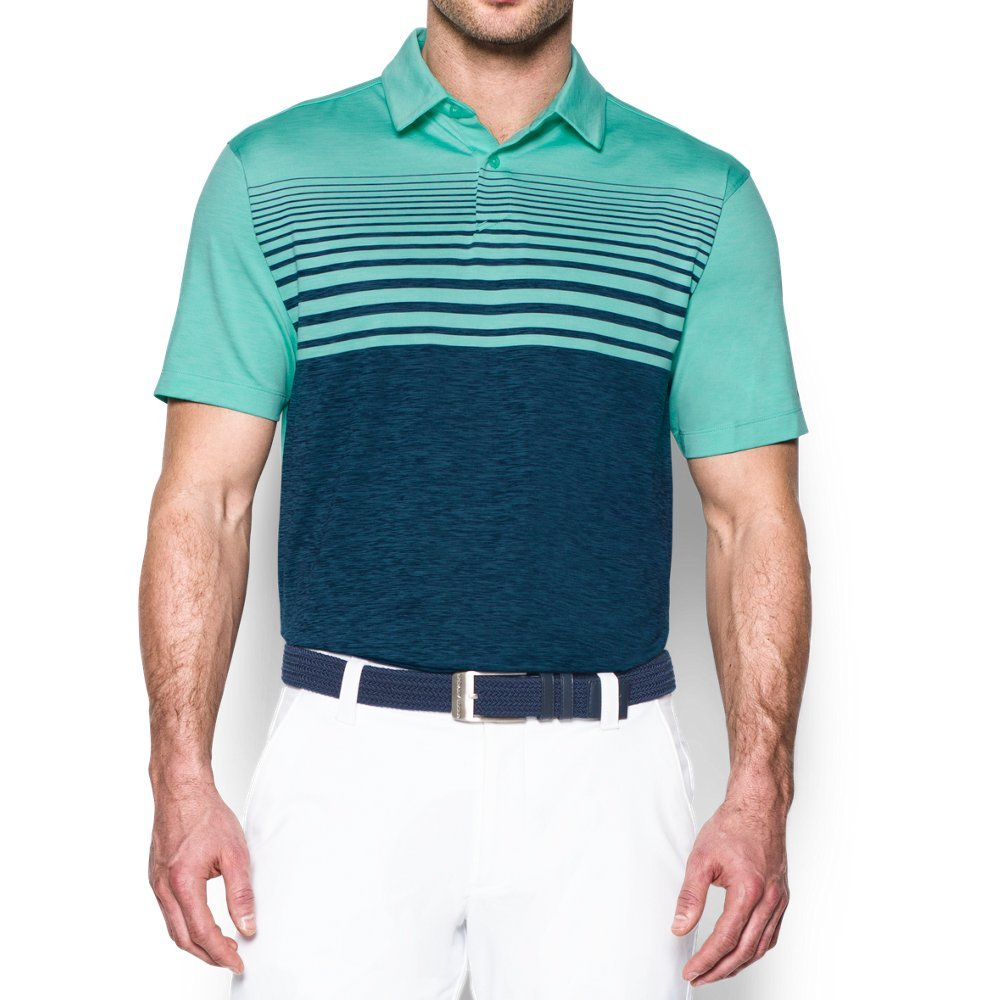 Under Armour Mens CoolSwitch Upright Stripe Top