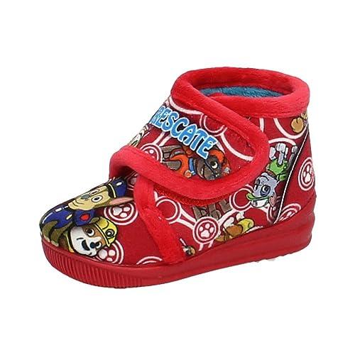 MORANCHEL 14766 Bota Patrulla Canina NIÑO Zapatillas CASA Rojo 19: Amazon.es: Zapatos y complementos