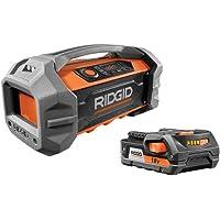 RIDGID 18-Volt Bluetooth Jobsite Radio Kit